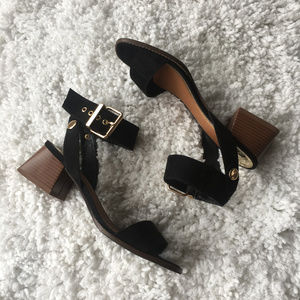 River Island sandals with block heel